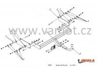 Tažné zařízení HAK-POL RENAULT Clio III combi, r.v. 11/08-12 - pevné