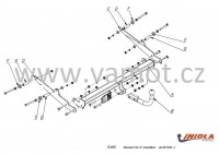 Tažné zařízení HAK-POL RENAULT Clio IV combi + grandtour, r.v. 13-xx - pevné