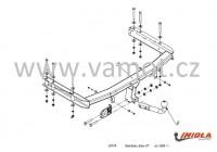 Tažné zařízení HAK-POL SEAT Exeo, Exeo ST, r.v. 09-13 - pevné