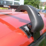 Střešní nosiče Škoda Fabia II hatchback, r.v. 07-xx - zamykatelný