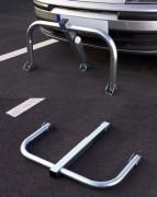 Parkovací zábrana EKO - sklopný rám