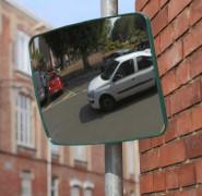 Panoramatické zrcadlo 40 x 30 cm