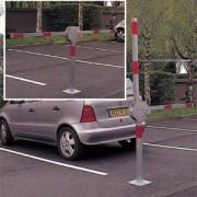 Parkovací zábrana douramenná (závory)