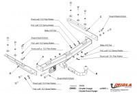 Tažné zařízení HAK-POL CHRYSLER Grand Voyager, r.v. 05/01-01/08 - pevné