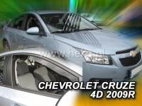 Ofuky Chevrolet Cruze 4dv., 2009-..., přední+zadní