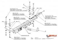 Tažné zařízení HAK-POL FORD Escort combi/ORION, r.v. 08/90-00 - pevné