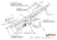 Tažné zařízení HAK-POL FORD Focus HB I, r.v. 98-04 - pevné