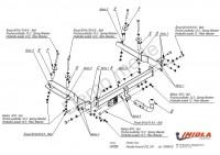 Tažné zařízení HAK-POL HONDA Accord CG, CH, r.v. 10/98-03 - pevné