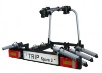Nosič kol HAKR Trip 3+1 Spare + SPZ a 4x reflexní náramek zdarma