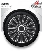 Kryty kol Le Mans pro Silver Black 16