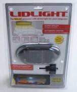 Solární LED osvětlení autoboxu