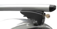 Střešní nosiče Seat Altea XL s integrovanými podélníky, r.v. 09-xx - alu zamykatelné