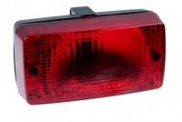 Mlhové světlo zadní červené hranaté