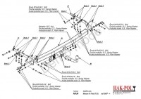 Tažné zařízení HAK-POL NISSAN X-Trail (T31), r.v. 03/07-14 - pevné