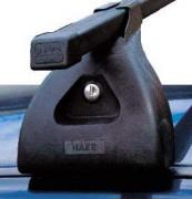 Střešní nosiče HAKR Fiat Idea, r.v. 04-xx - zamykatelné