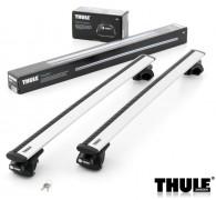 Příčníky THULE 757 Rapid Railing + WingBar ALU zamykatelné - 108, 118, 127, 135 cm