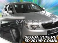 Ofuky Škoda Superb II, 2008-.doposud, přední