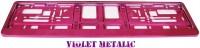 Podložka SPZ fialová metalíza