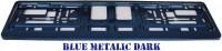 Podložka SPZ tmavě modrá metalíza