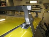 Střešní nosiče Peugeot Partner, r.v. 96-07 - zamykatelný - DOPORUČUJEME