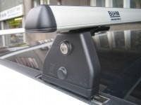 Střešní nosiče Peugeot 307 - 3dv.,5dv., r.v. 01-xx - alu zamykatelný