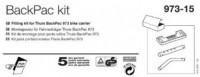 Montážní sada nosiče THULE BackPac 973-15