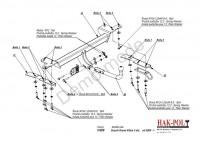 Tažné zařízení HAK-POL SUZUKI Grand Vitara, r.v. 05-09/10 - pevné