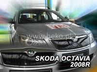 Zimní clona chladiče Škoda Octavia II facelift, r.v. 07-13 - horní