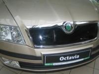 Zimní clona chladiče Škoda Octavia II, r.v. xx-07 - horní